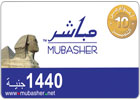 Mubasher Recharge Card 1440 Points - Egypt