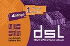 Sahara DSL_4MB Card 1 Year + 4 Months free