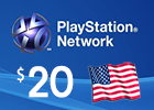 PlayStation Network - $20  PSN Card (United States only)