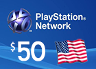 PlayStation Network - $50 PSN Card (United Sates Only)