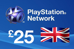 PlayStation Network - GBP25 PSN Card (United Kingdom Only)