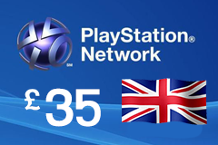 PlayStation Network - GBP35 PSN Card (United Kingdom Only)