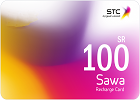Sawa Recharge Card SR 100