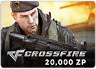 CrossFire card- 20000 ZP
