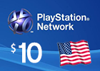 PlayStation Network - $10  PSN Card (United States Only)