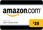 Amazon (US) Gift Card - USD 25