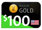 Razer Gold - $100 (US Store).