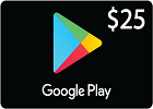 Google Play Gift Card $25 (US Store)