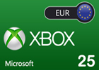 Xbox Live EUR25 Gift Card