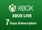 Xbox Live 7 Days Subscription