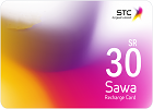 Sawa Recharge Card SR 30