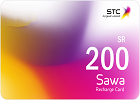 Sawa Recharge Card SR 200