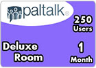 Blue Deluxe Room 250 Users - 1 Month