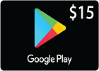 Google Play Gift Card $15 (US Store)