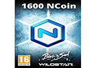 NCoin 1600 EU  (NCSOFT CURRENCY FOR WILDSTAR/ BLADE & SOUL)