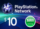 PlayStation Network - $10 PSN Card (Saudi Store Only)