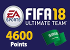FIFA 18 Ultimate Team 4600 Points (Saudi Store)