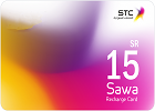 Sawa Recharge Card  SR 15