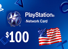 PlayStation Network - $100  PSN Card (United States only)