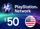 PlayStation Network - $50 PSN Card (United States Store)