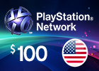 PlayStation Network - $100 PSN Card (United States Store)