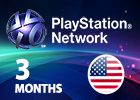 Playstation Plus - 3 Months (United States Only Store)