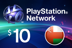 PlayStation Network - $10 PSN Card (Omani Store)