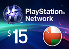 PlayStation Network - $15 PSN Card (Omani Store)