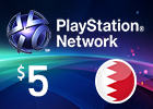 PlayStation Network - $5 PSN Card (Bahraini Store)