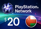 PlayStation Network - $20 PSN Card (Omani Store)
