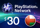 PlayStation Network - $30 PSN Card (Omani Store)