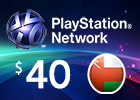 PlayStation Network - $40 PSN Card (Omani Store)