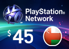 PlayStation Network - $45 PSN Card (Omani Store)