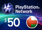 PlayStation Network - $50 PSN Card (Omani Store)