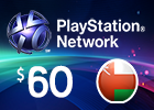 PlayStation Network - $60 PSN Card (Omani Store)