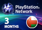 PlayStation Network - 3 Months (Omani Store)