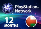PlayStation Network - 12 Months (Omani Store)