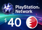 PlayStation Network - $40 PSN Card (Bahraini Store)