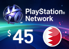 PlayStation Network - $45 PSN Card (Bahraini Store)