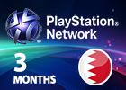 PlayStation Network - 3 Months (Bahraini Store)