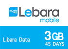 Lebara Data 3 GB 45days