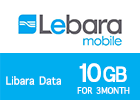 Lebara Data 10 GB for 3Month