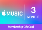 Apple Music 3-Months Membership Gift Card