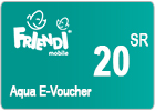 FRiENDi Aqua Voucher SR 20
