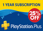 PlayStation Network - 12 Months 25 Percent Off (Saudi Store)