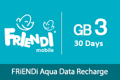 FRiENDi Aqua GB 3