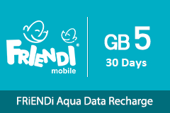 FRiENDi Aqua GB 5