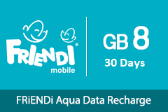 FRiENDi Aqua GB 8