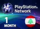 PlayStation Plus Network - 1 Month (Lebanon Store)