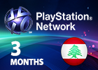 PlayStation Plus Network - 3 Months (Lebanon Store)